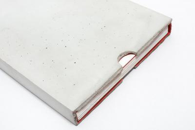 Livre couverture beton